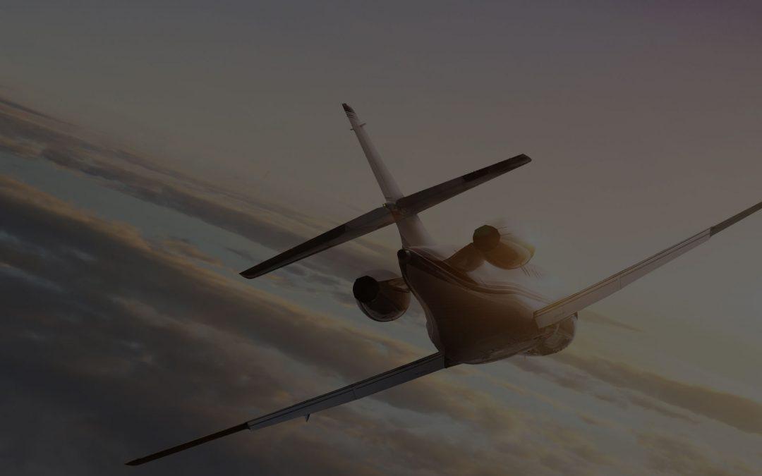 Частные авиаперелеты / посадочная страница / Google AdWords / Yandex Direct